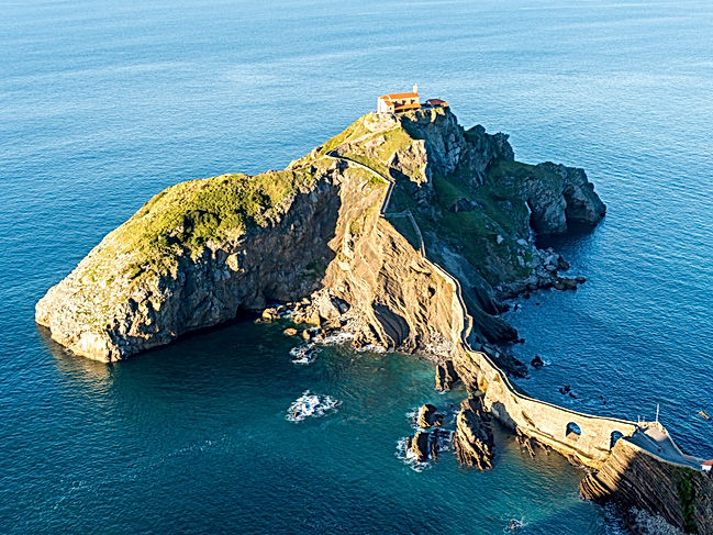 San Juan de Gaztelugatxe in the Basque Country