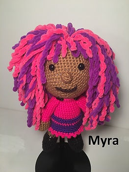 custom crochet doll