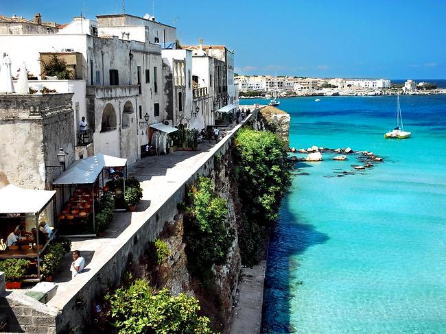 Puglia's beautiful coastline