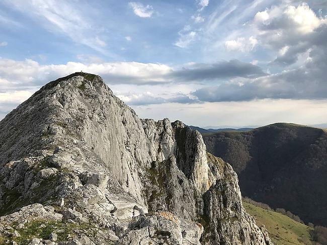 The Basque Mountain Range