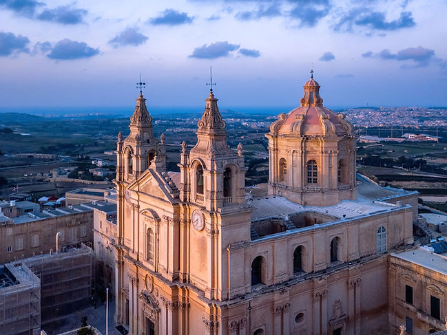 St Paul's Cathedral in Mdina is one of Malta's most important religious sites