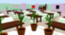 "3D-схема зала семейного ресторана ""АиСт"""