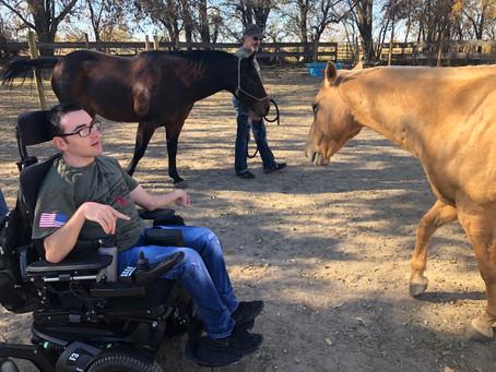 Trandon Mechling becomes Global Ambassador for Limbitless