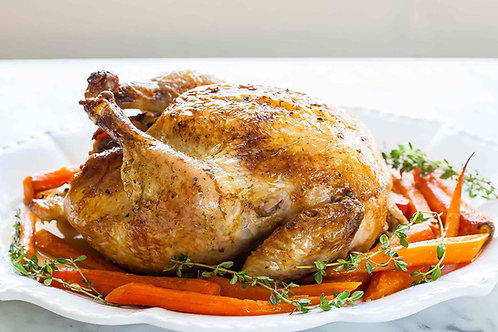 Whole Chicken - Free-Range / Non-GMO / No antibiotics / Organically Grown