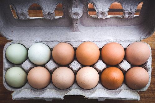 Free-Range Chicken Eggs (Star/Eagle Pickup)