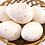 Thumbnail: Free-Range Turkey Eggs (Half Dozen)