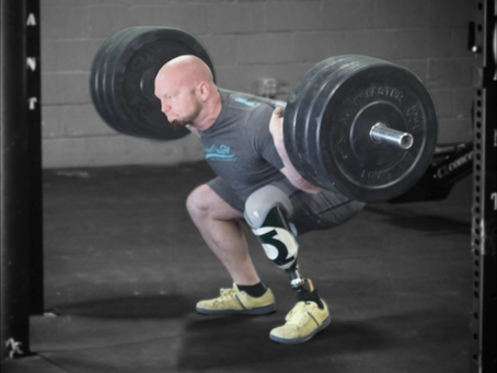 America's Strongest Adaptive Athlete Facing Forward