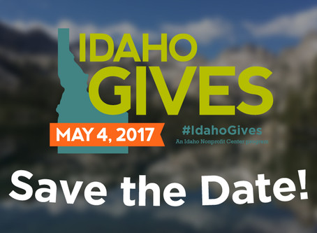 Save the date for Idaho Gives 2017!