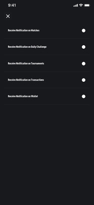 Notifications Switch OFF
