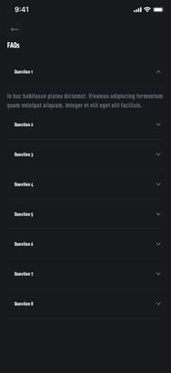 FAQs Selected