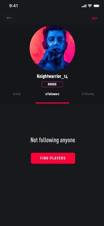 Profile No Follower