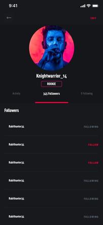 Profile Followers