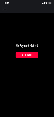 No Payment Method