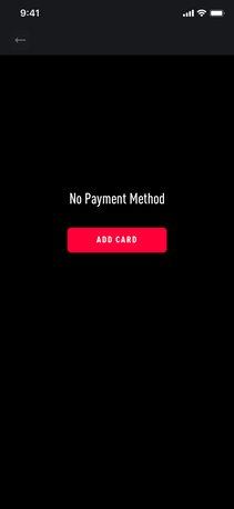 No Payment Method
