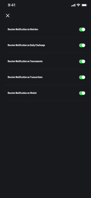 Notifications Switch ON