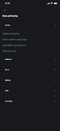 Rules and Scoring Fortnite