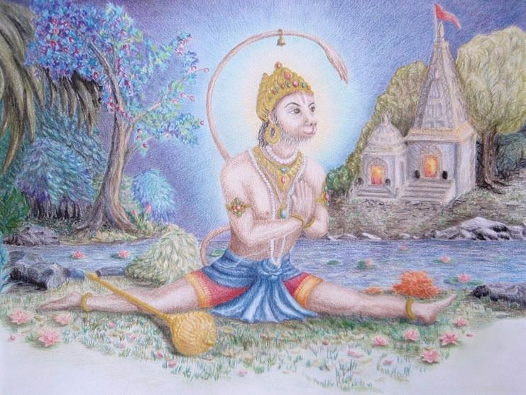 Hanumanasana: la posture du dieu-Singe