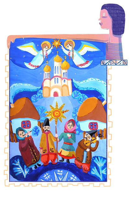 Lyudmila Ledka_Gouache on Paper_21x33cm.