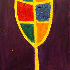 SAAS_Birshtein_A_Purple_Glass_Oil_Canvas