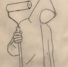 SAAS_Chtak_The Artist_Pencil_Paper_£500.