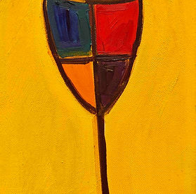 SAAS_Birshtein_A_Yellow_Glass_Oil_Canvas