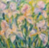 SAAS_Birshtein_Irises_Oil_Canvas_£3500.