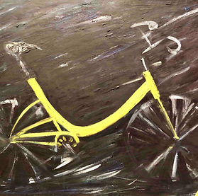 SAAS_Birshtein_My_Bycicle_Oil_Canvas_£2