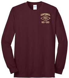 IRON MEN Centennial Long Sleeve T-Shirt |PC55LS