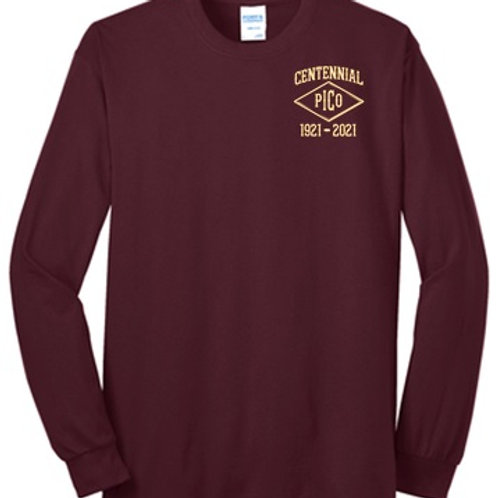 IRON MEN Centennial Long Sleeve T-Shirt |PC55LS
