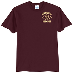 IRON MEN Centennial 50/50 T-Shirt - PC55