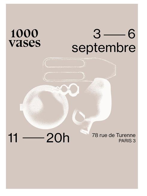 1000 Vases - 2020