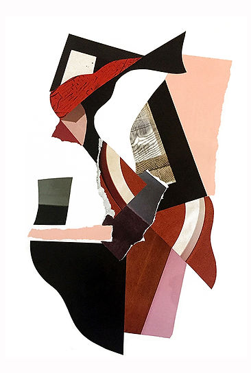 florence bamberger collage art exhibition