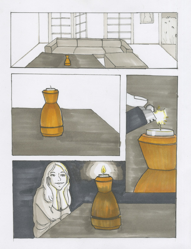 Candle Holder Storyboard