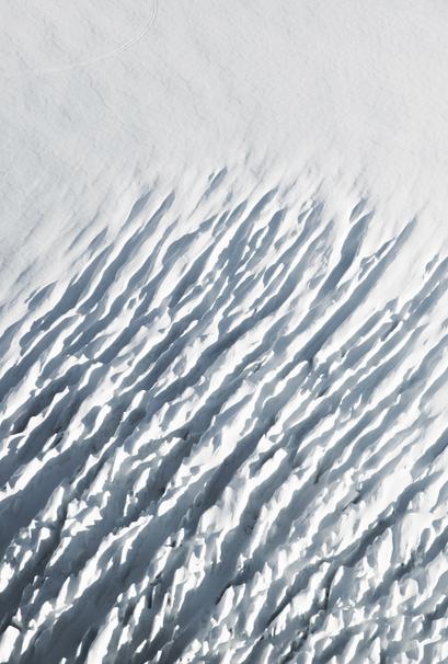 Tasman Glacier Crevasses Art Print.png