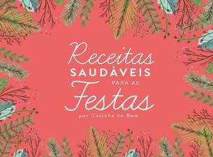 E-book gratuito de Receitas Saudáveis para as FESTAS!
