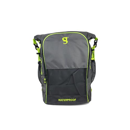Dueler 32L Waterproof Backpack - Grey/Neon Green