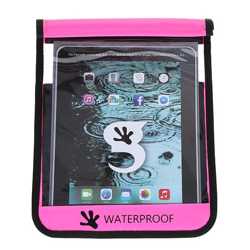 Waterproof iPad/Large Tablet Dry Bag - Pink