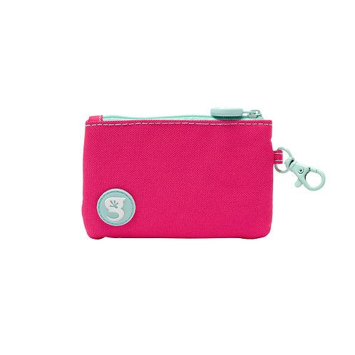 ID Case Wallet W/ Clip - Pink