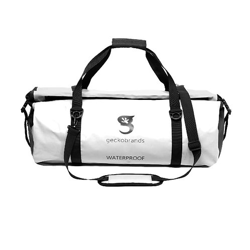 Waterproof 50L PVC Duffel - White