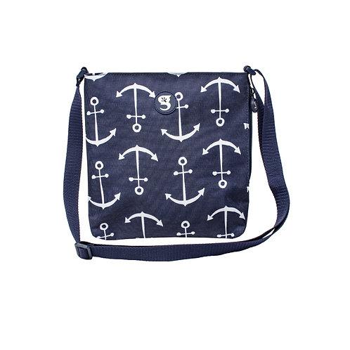 Crossbody Bag - Blue Large Anchor