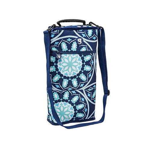 Verticool Cooler -  Blue Medallion - Fits up to 9 cans