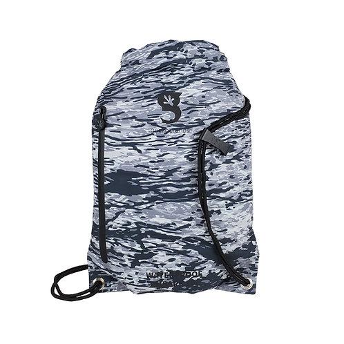 Embark 10L Waterproof Drawstring Backpack - Artic geckoflage