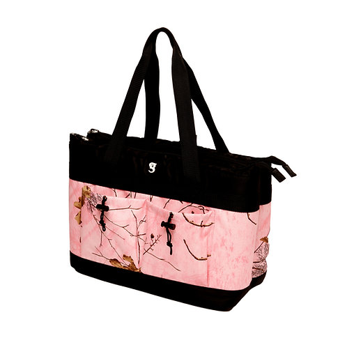 2 Compartment Tote Cooler - Realtree Pink Camo