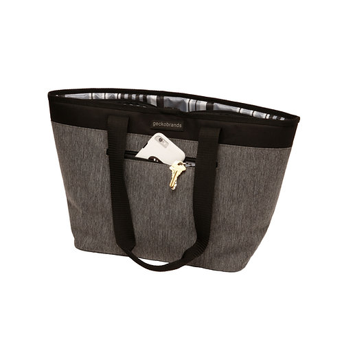 Organizational Shoulder Tote - Everyday Grey