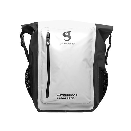 Paddler 30L Waterproof Backpack - White