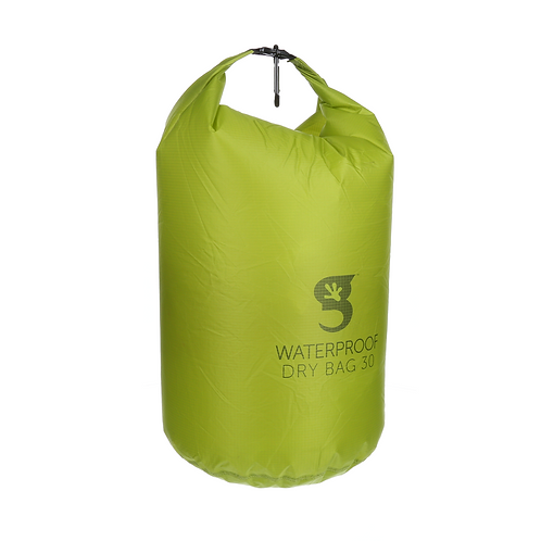 Compression Waterproof Lightweight  Dry Bag 30L or 7.9 Gallon - Green