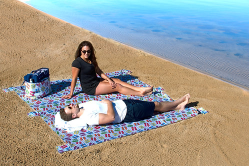 Lightweight Waterproof Blanket - Flip Flop Toss