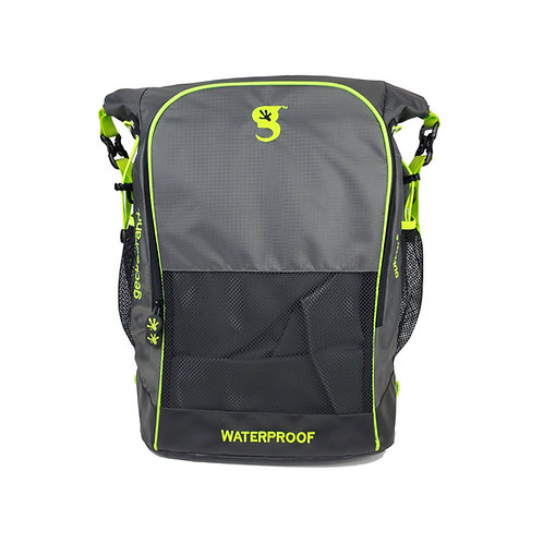 Dueler 32L Waterproof Backpack - Grey/Neon Green