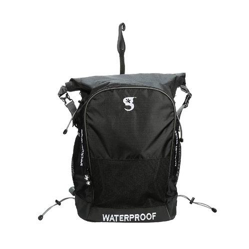 Dueler 32L Waterproof Backpack - Black/Grey