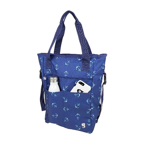 Convertible Tote & Backpack - Anchors
